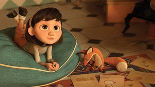 """""""Le Petit Prince"""", centré sur l'histoire de cette petite fille interprétée par Clara Poincaré, sort en salles mercredi 29 juillet 2015. (PARAMOUNT PICTURES FRANCE)"""