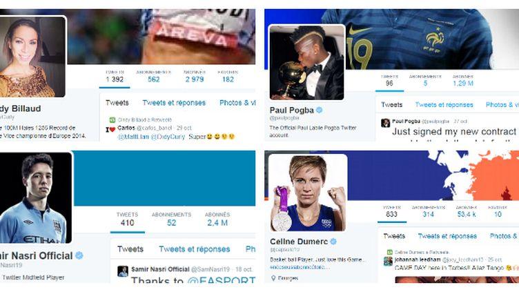 Après Facebook et Instagram, les sportifs français se mettent à Twitter.