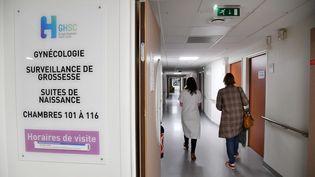 La maternité de Seclin (Nord), le 9 novembre 2020. (MAXPPP)
