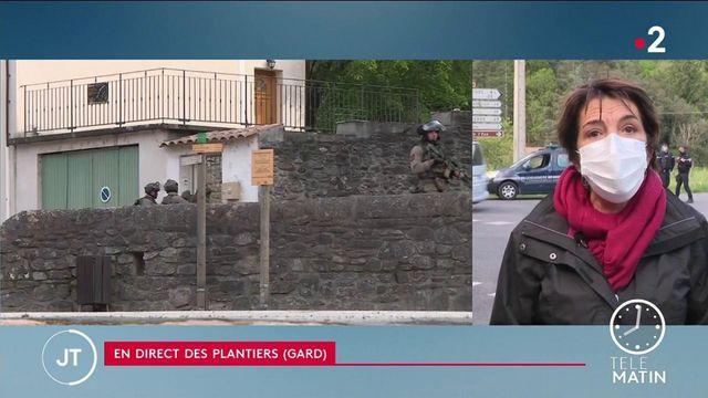 Tuerie dans une scierie dans le Gard: la traque se poursuit pour retrouver le principal suspect