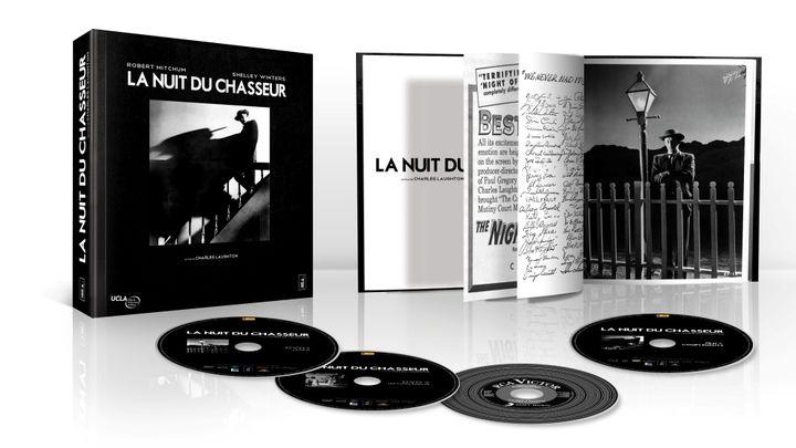 """Le coffret Blu-ray """"La Nuit du chasseur"""" édité chez Wild Side  (Wild Side)"""
