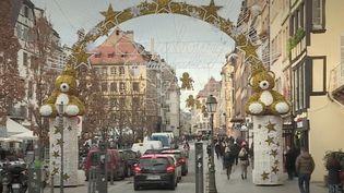 Strasbourg : le tourisme se réinvente pendant les fêtes. (Capture d'écran/France 3)