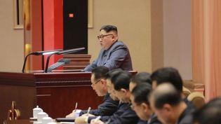 Kim Jong-Un le 23 décembre 2017. (AFP PHOTO / KCNA VIA KNS)