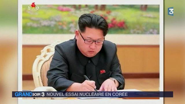 La Corée du Nord a effectué un essai nucléaire