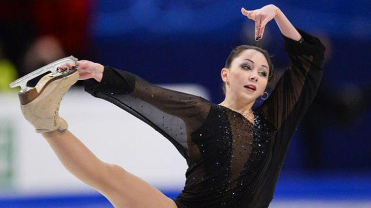 La jeune russe Elizaveta Tuktamysheva  (JONATHAN NACKSTRAND / AFP)