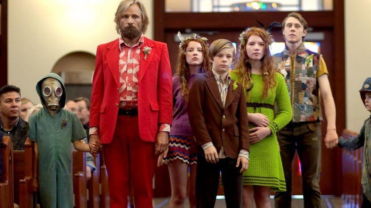Ben (Viggo Mortensen) et ses enfants  (Mars Distribution)
