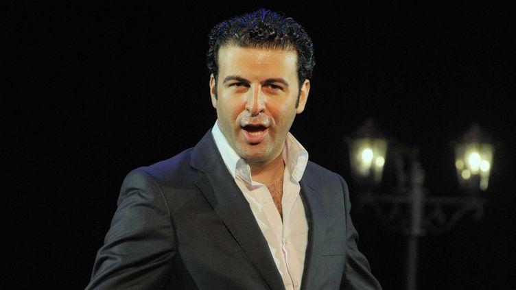 David Serero sur scène  (DELALANDE RAYMOND/SIPA)