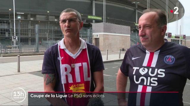 Coupe de la Ligue : le PSG vainqueur dans un stade presque vide