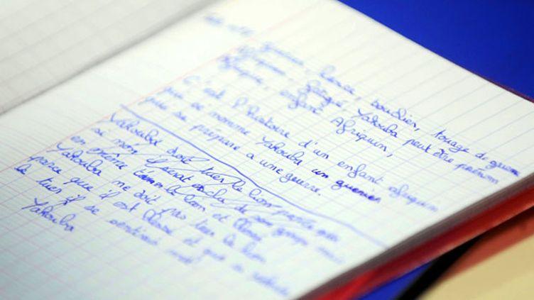 (Un nouveau site pour ré-apprendre l'orthographe © MaxPPP)