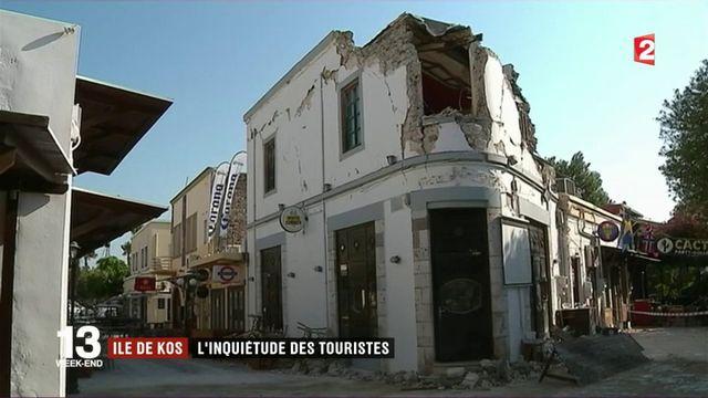 Ile de Kos : l'inquiétude des touristes