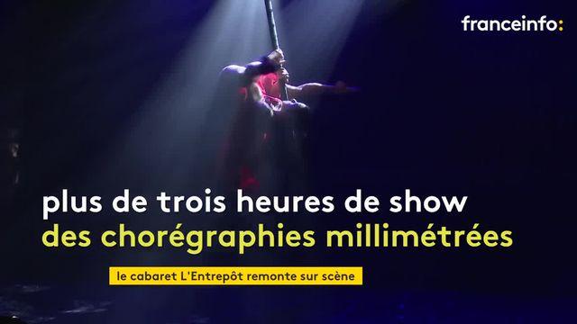 Insolit'Le Show, le nouveau spectacle du cabaret L'Entrepôt, à Perigny.