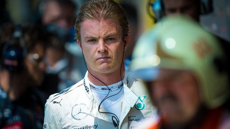 Nico Rosberg lors de la saison 2015 de Formule 1. (ANDREJ ISAKOVIC / AFP)