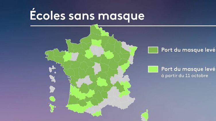 Fin du pass sanitaire : le gouvernement appelle à la prudence (FRANCE 2)