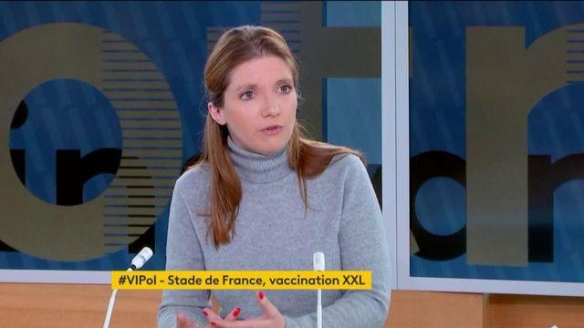 VIPol Aurore Bergé, Stade de France vaccination XXL