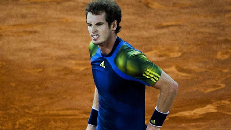 Le tennisman britannique Andy Murray