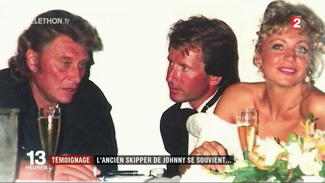 L'ancien skipper de Johnny Hallyday témoigne de son amitié