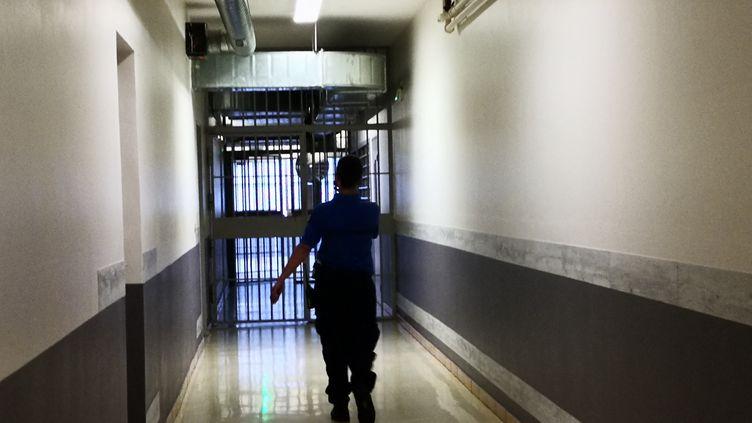 La ministre de la Justice, Nicole Belloubet, a indiqué vouloir faciliter la sortie de 5 000 détenus en fin de peine. (NINA VALETTE / FRANCE-BLEU ISÈRE)