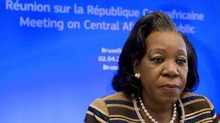 La présidente par intérim de la Centrafrique, Catherine Samba-Penza (AFP)
