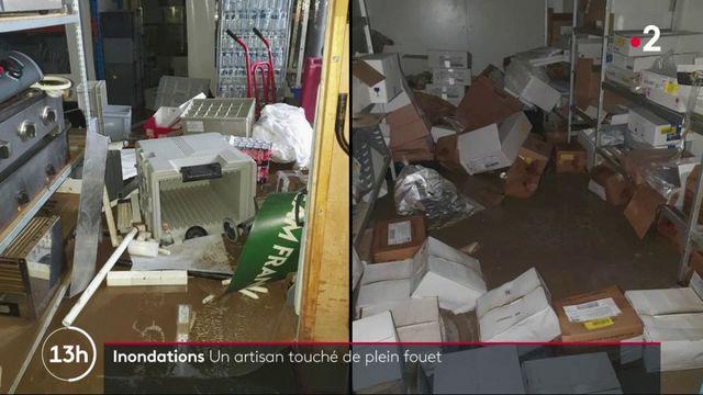 Alpes-Maritimes : les conséquences très lourdes des inondations pour les professionnels
