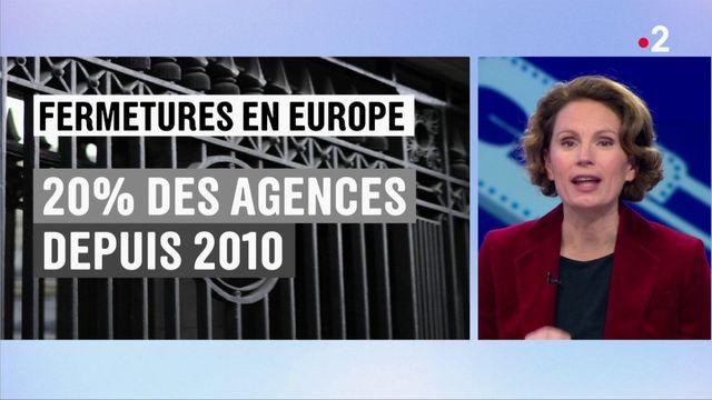 Les agences bancaires se font de plus en plus rares en France