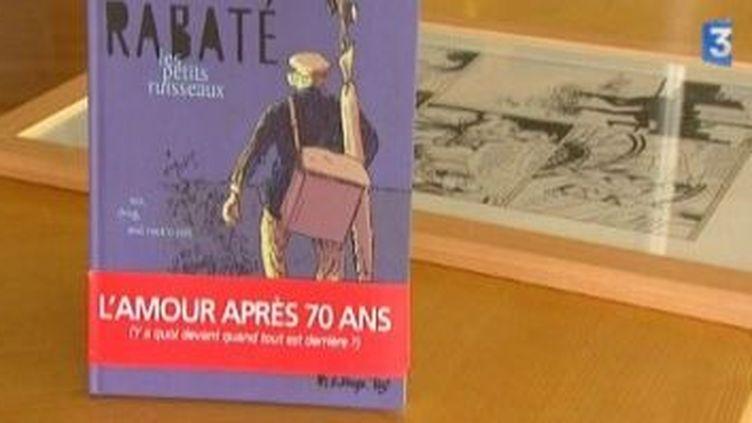 Pascal Rabaté et Gradimir Smudja au festival de Bande dessinée d'Amiens  (Culturebox)