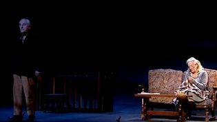 """La pièce de théâtre """"Le fils"""" de Jon Fosse au théâtre de la Madeleine à Paris  (France 3 / Culturebox)"""