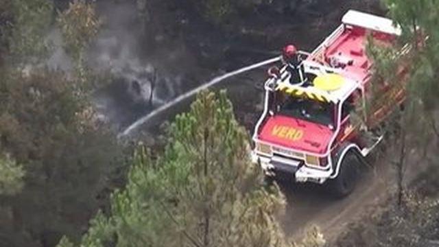 Incendie en Gironde : le feu n'est pas encore totalement maîtrisé