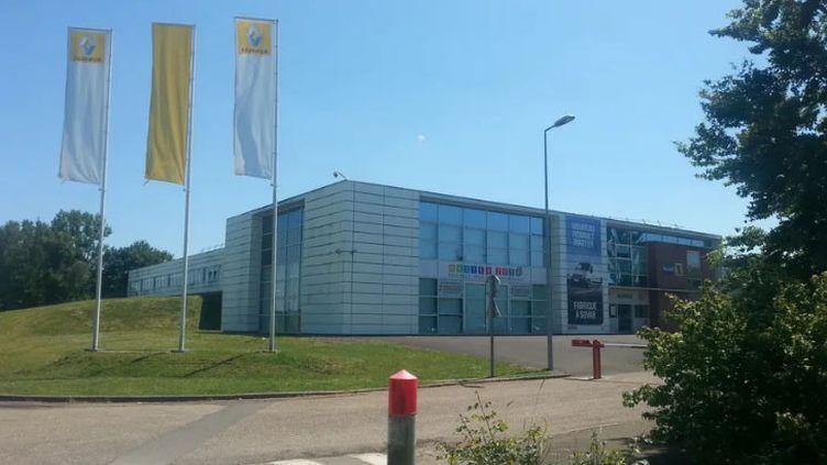L'usine Sovab, une filiale de Renault, à Batilly en Meurthe-et-Moselle (FRANCOIS PELLERAY / RADIO FRANCE)