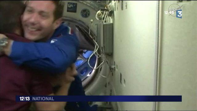 ISS : Thomas Pesquet est arrivé