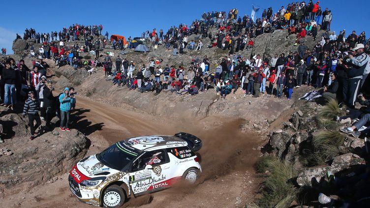 Kris Meeke (Citroën) (DIEGO LIMA / AFP)
