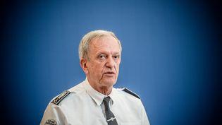 Frédéric Veaux, le directeur général de la police nationale, le 31 août 2020 à Paris. (ARTHUR NICHOLAS ORCHARD / HANS LUCAS / AFP)