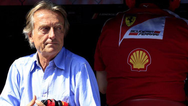 Le président de Ferrari Luca Cordero di Montezemolo