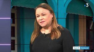 Zoé Valdés, romancière cubaine. (FRANCE 3)