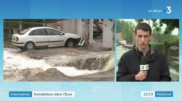Intempéries dans l'Eure : de fortes précipitations attendues ce mardi