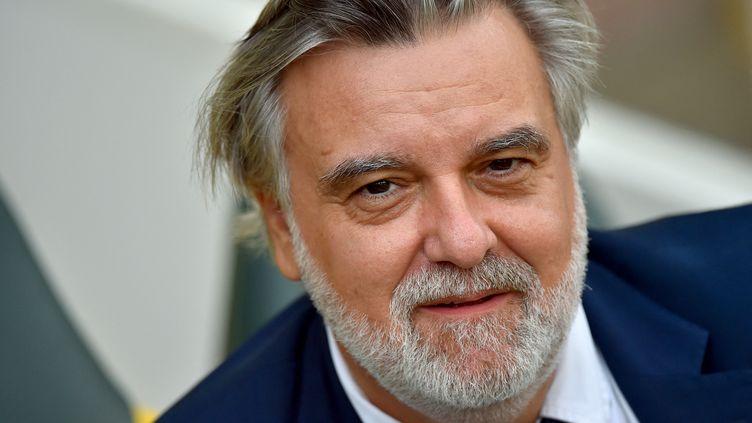 Laurent Nicollin, président du club de football de Montpellier (31 Août 2019). (LOIC VENANCE / AFP)