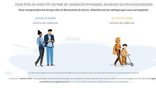 La page d'accueil du sitehttps://parcours-victimes.fr/. (https://parcours-victimes.fr/)