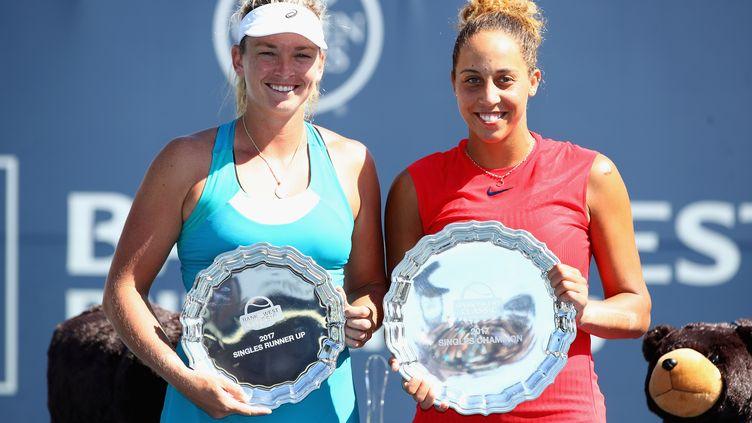 Les Américaines Keys et Vandeweghe ont retrouvé le Top 20 WTA après leur finale à Stanford. (EZRA SHAW / GETTY IMAGES NORTH AMERICA)