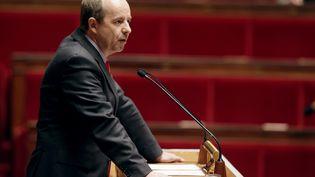 Le président socialiste de la commission des Lois de l'Assemblée nationale, Jean-Jacques Urvoas, le 17 avril 2013 au Palais-Bourbon, à Paris. (KENZO TRIBOUILLARD / AFP)