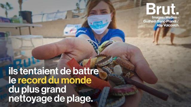 62 000 kilos de déchets. C'est ce qu'auraient ramassé ces volontaires lors d'un nettoyage de plage géant en Israël…