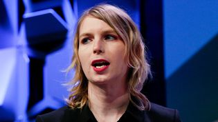 Chelsea Manning s'exprime lors d'une conférence à Austin (Texas), le 13 mars 2018. (SUZANNE CORDEIRO / REUTERS)