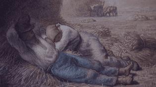 La méridienne - Jean-François Millet - 1866  (Culturebox / capture d'écran)