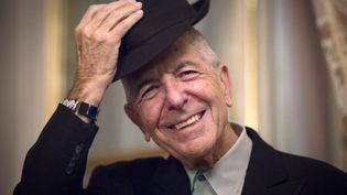 Leonard Cohen à Paris, le 16 janvier 2012. (JOEL SAGET / AFP)