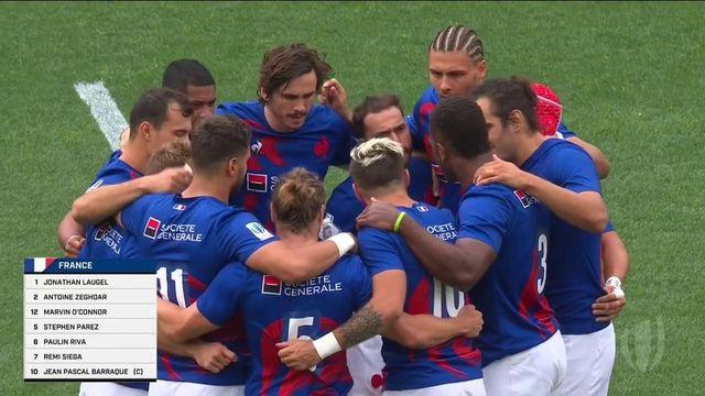 TQO rugby à 7 (H) : les meilleurs moments du match France vs Jamaïque