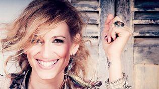 Gaelle Buswel en couverture de son pochain album New day's waiting  (Guillaume Eymard)