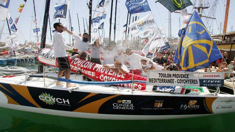 Toulon-Provence Méditerranée, vainqueur du Tour de France (PATRICK VALASSERIS / AFP)