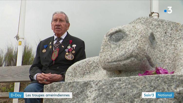Le soldat amérindien Charles Shay (France 3)