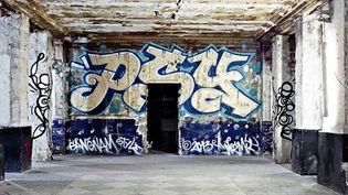 Le mur de PSY, légende du graffiti, aux Bains Douches.  (Photo Jérome Coton - Courtesy Magda Danysz)