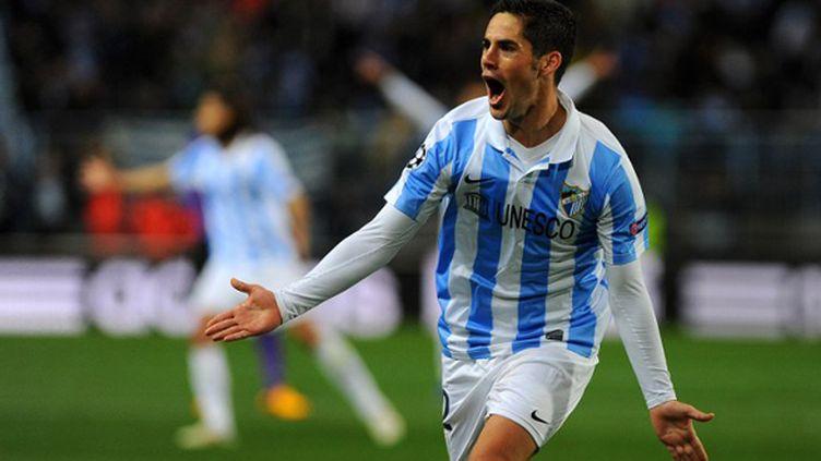 Le jeune Espagnol Isco (JORGE GUERRERO / AFP)