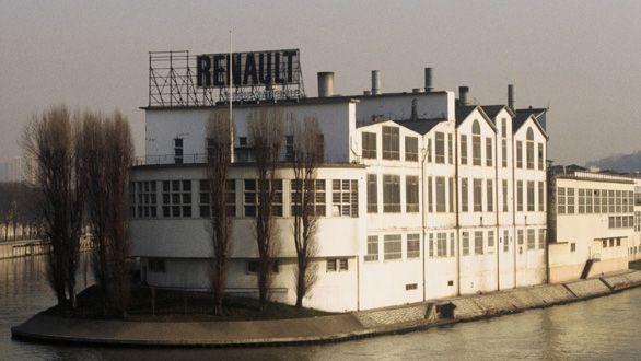 L'usine Renault-Billancourt sur l'île Seguin (Boulogne-Billancourt) en 1970  (Collection Ribière / SIPA)