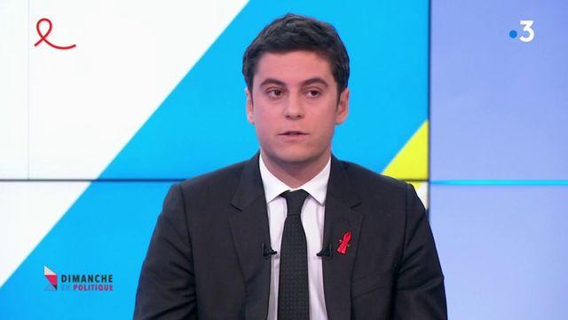 Gabriel Attal sur le SNU